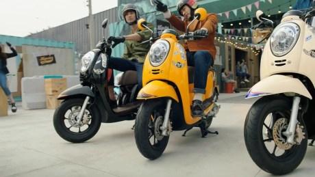 Scoopy Thailand yang Diharapkan Hadir di Indonesia