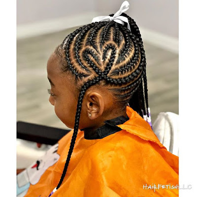 Looking for unique braids which will wow ✘ +27 Unique Tribal Braids Hairstyle 2020 For African American Women