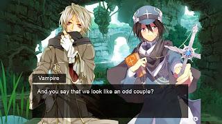 Screen z gry visual novel stworzonej w TyranoBuilder