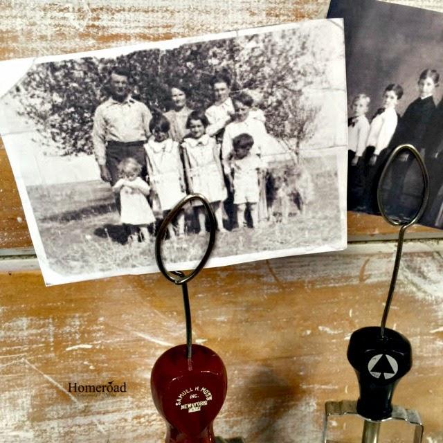 Vintage Stamper Photo Display