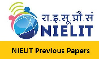 NIELIT Previous Papers