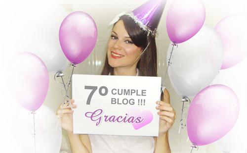Monika Sanchez blogger maquillaje 7 cumpleblog