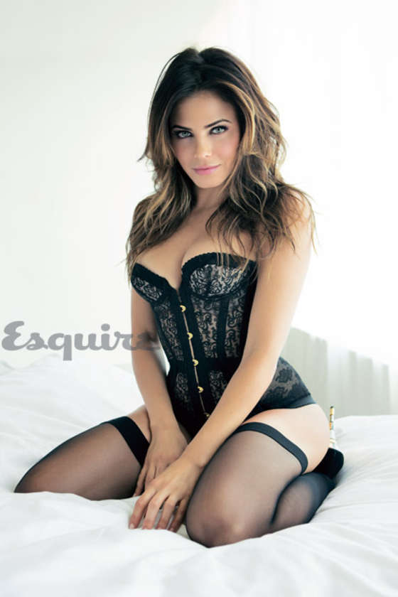 Jenna Dewan-Tatum shows off curves for Esquire February 2013