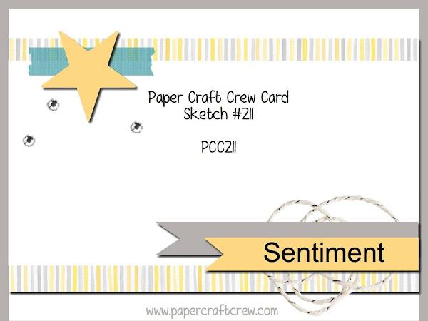 Paper Craft Crew Challenge #211