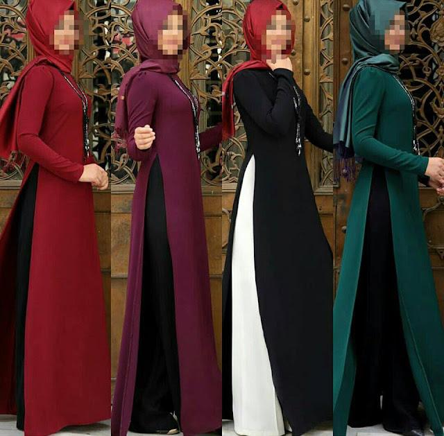 مجموعة حصرية من حجابات تركية لشتاء 2018