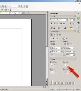 menentukan batas halaman (margin) - (1)