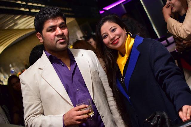 (L-R) Karn Gill, Fauzia Bakshi