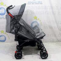 pliko speedy twin kembar stroller
