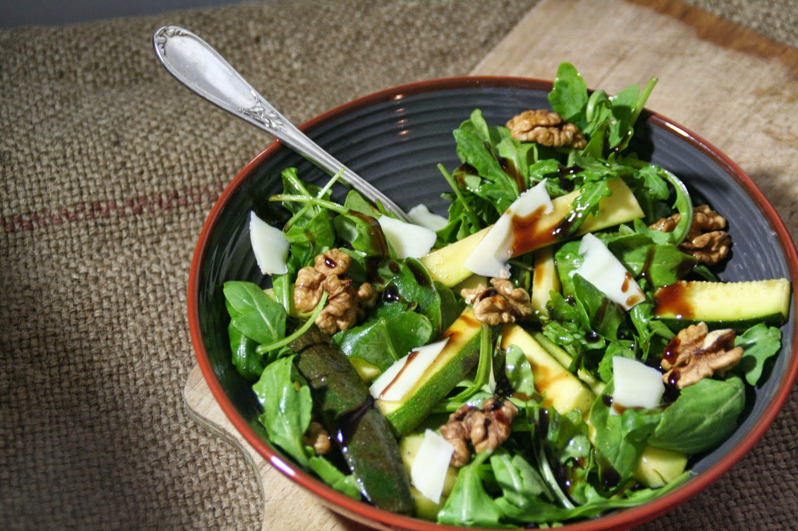 Et Charlotte Decouvrit La Cuisine Courgettes Marinees En Salade