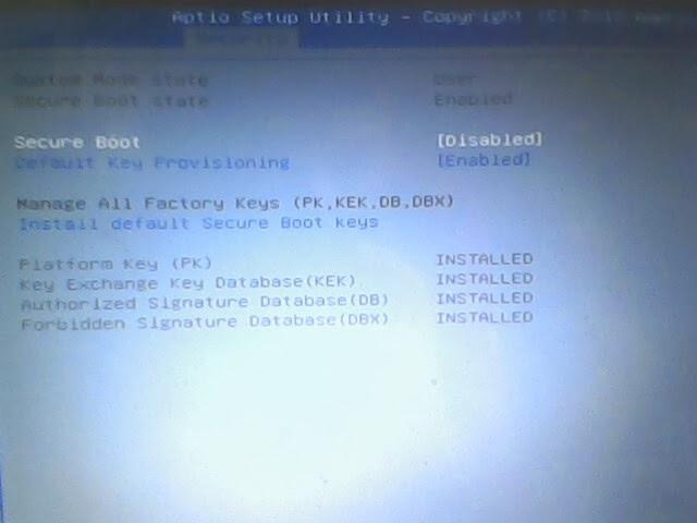 Cara Instal Ulang Windows 7 dan setting bios di Axioo Neon RNO