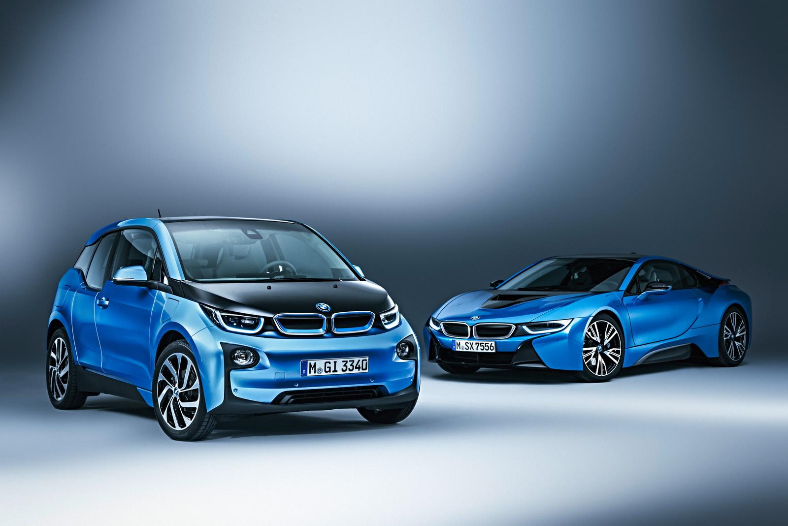 BMW i3 và i8 sẽ là những cú đại bác đầu tiên của BMW vào làng xe điện