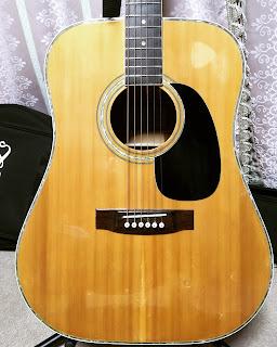 アコギ 木曽スズキ アコースティックギター