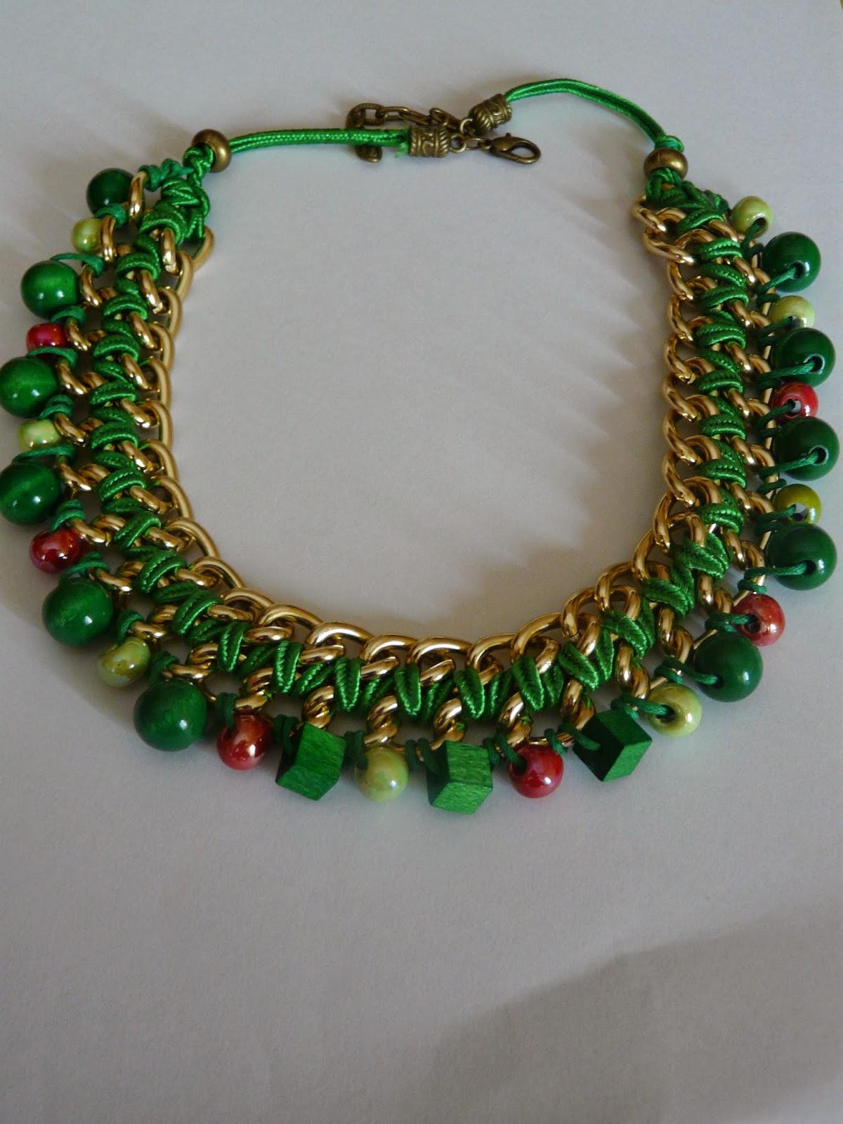 Smartandchick collar con cadena y piedras - Piedras para collares ...