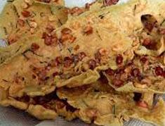 Resep makanan indonesia rempeyek kacang spesial (istimewa) praktis mudah gurih, enak, renyah, sedap, nikmat lezat