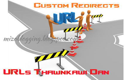 blogger urls thawnkawi dan custom redirect
