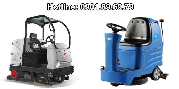 máy chà sàn công nghiệp cho sân bay