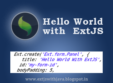 Hello World with Ext JS