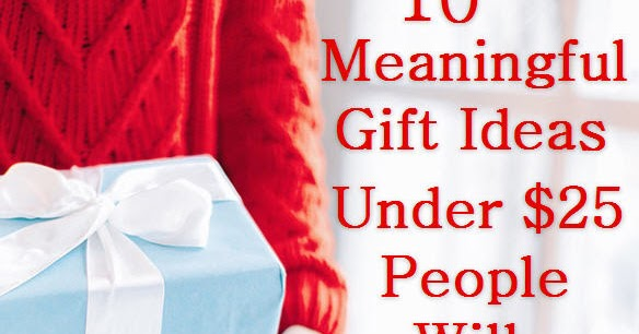Condo Blues 10 Meaningful And Inexpensive Gift Ideas