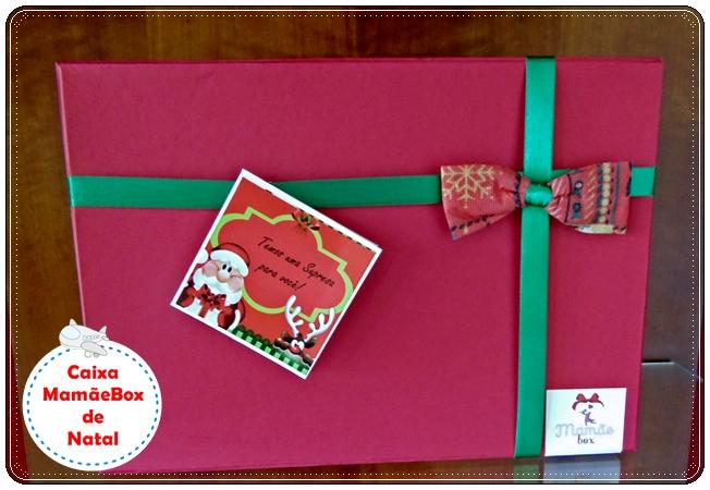 Caixinha MamãeBox de Natal