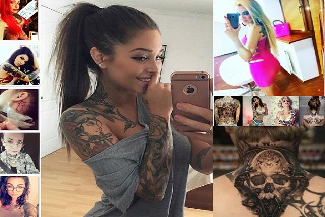 32 Gambar Tattoo 3D Full Di Leher Asli Foto Keren Dari Desainer Rajah Tato