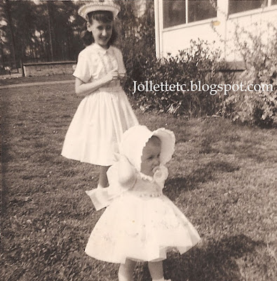 Wendy Slade and Mary Jollette Slade 1960  http://jollettetc.blogspot.com