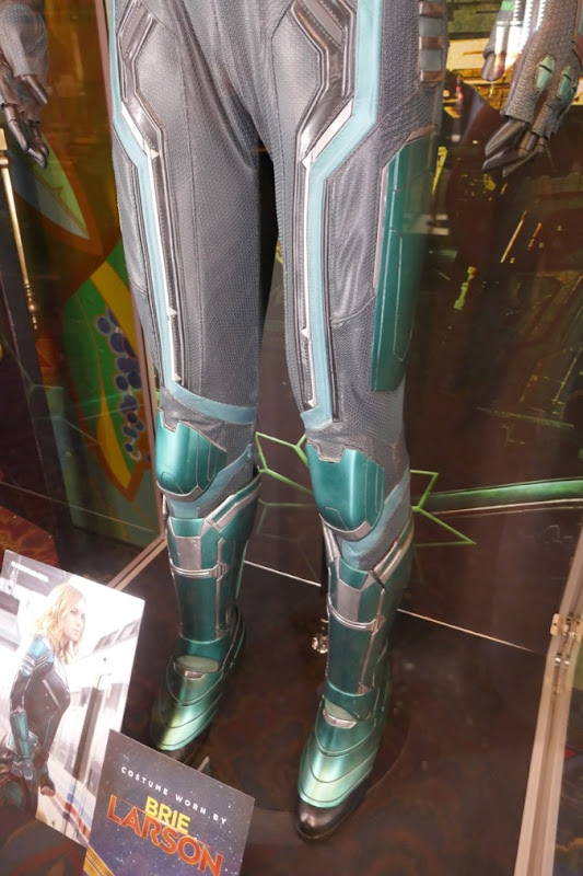Starforce costume legs Captain Marvel