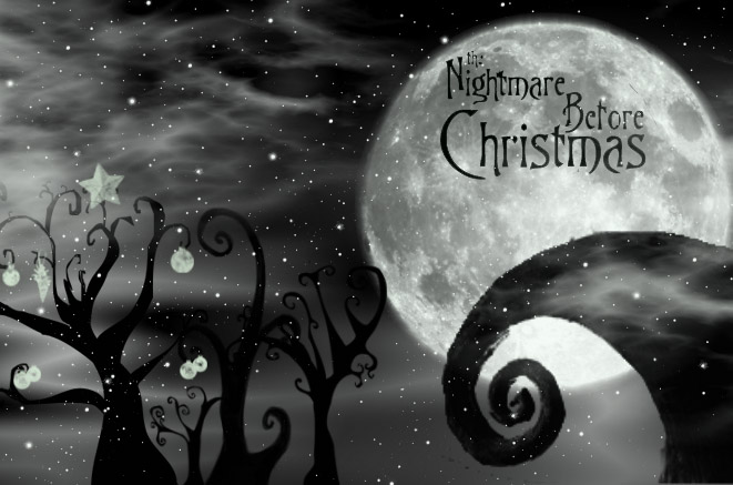 Christmas Gift Nightmare Before Christmas Wallpapers