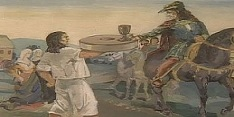 Pál odanyújtja  a malomkövet