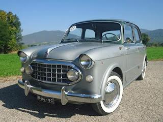 Fiat 1100 103 Elite Vignale '56 VERA RARITA