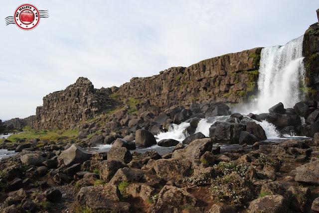 Þingvellir - cascada Öxarárfoss