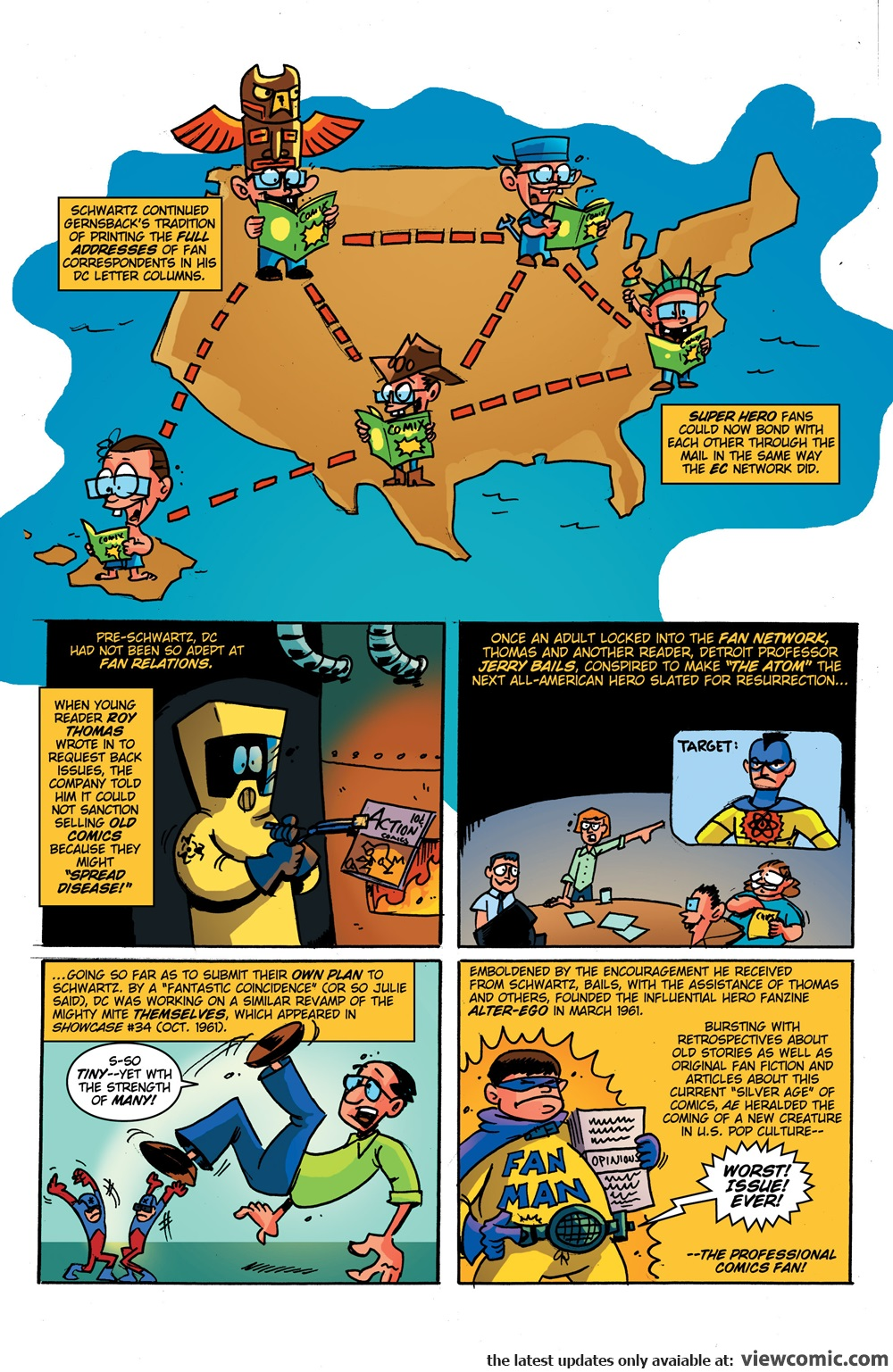 Comic Book History of Comics 005 (2017) | Reading Comics