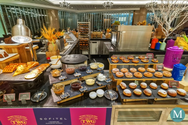 Breakfast Buffet at Sofitel Guangzhou Sunrich