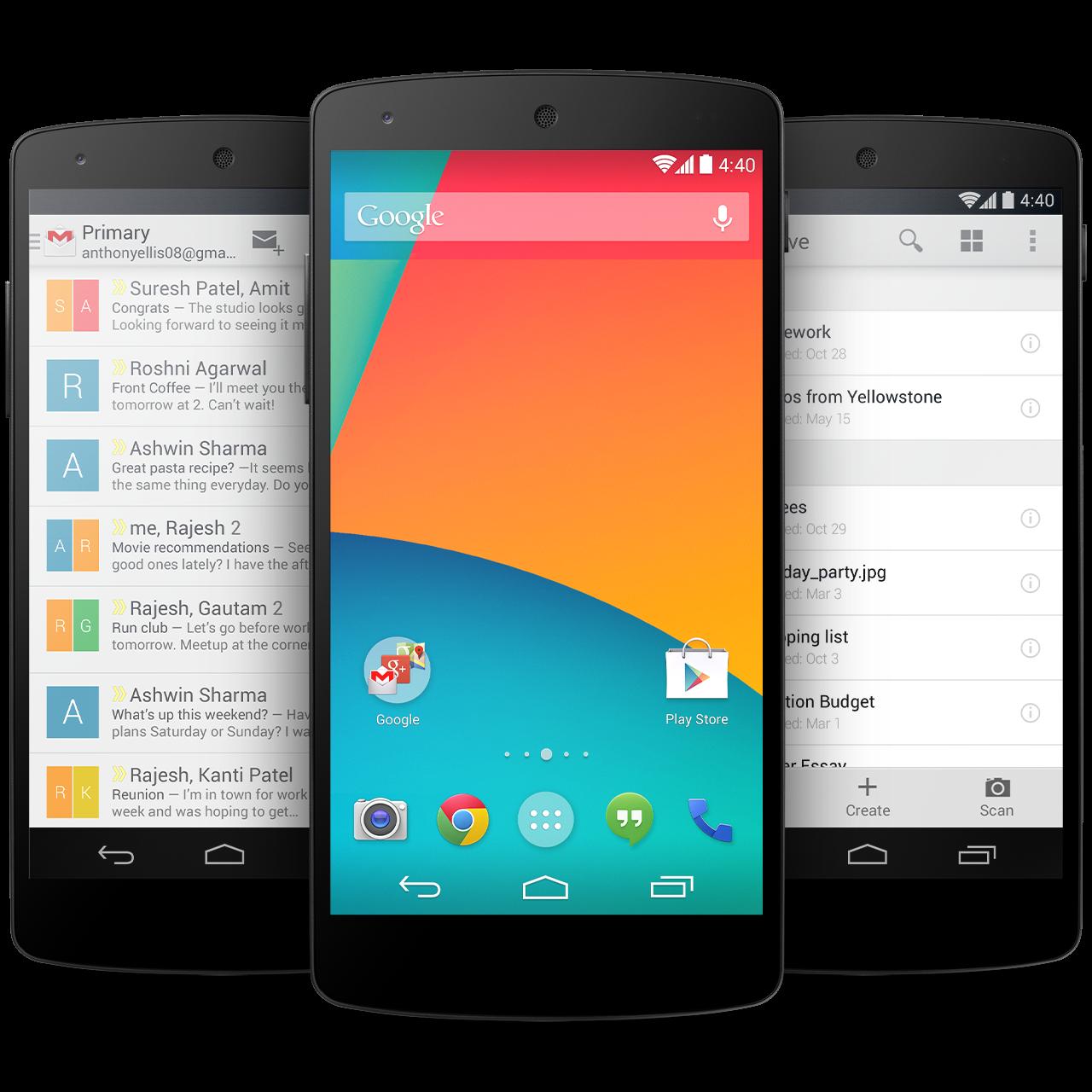 Tech Roundup: Nexus 5, iPad Air, Nokia 2520 & More ...  Nexus 5 Phone Png