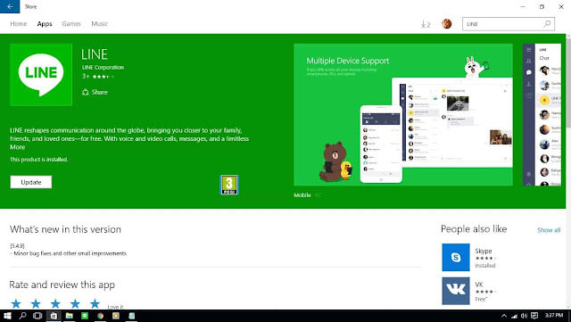 Cara Instal LINE di Windows 10, Cara Instal Aplikasi LINE di Windows 8, Download Aplikasi LINE untuk Windows 10, Instalan LINE untuk Windows 10, Line Untuk Windows 7, Line untuk Windows 8, Line untuk Windows 10, 32