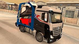 Mercedes Actros MP2 Car Transporter mod