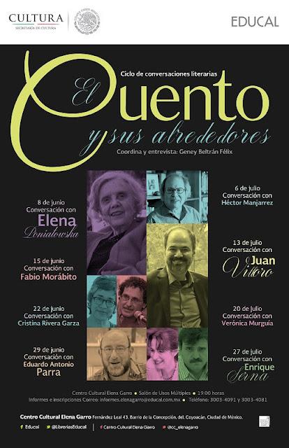 """Ciclo """"El cuento y sus alrededores"""" en el Centro Cultural Elena Garro"""