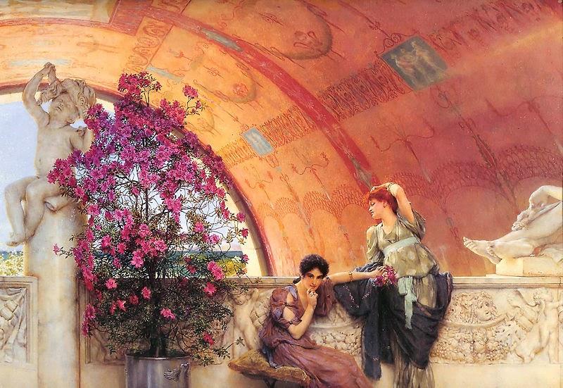 Rivais Inconsciente - As mais belas pinturas de Lawrence Alma-Tadema - (Neoclassicismo)