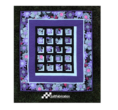 Shadowed Flowers Quilt
