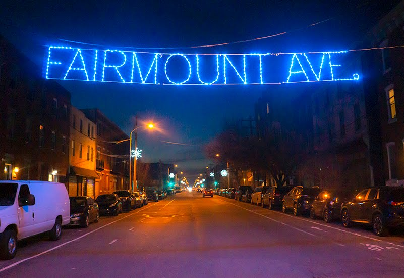 Spring Garden Civic Ociation Lighting Up Fairmount Avenue