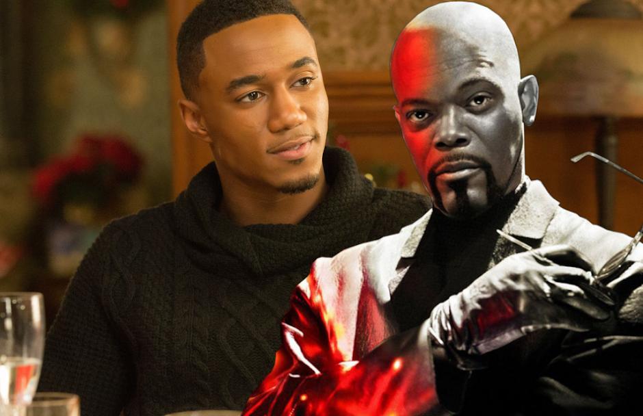 """Jessie T. Usher será o filho de Samuel L Jackson na sequência de """"Shaft"""""""