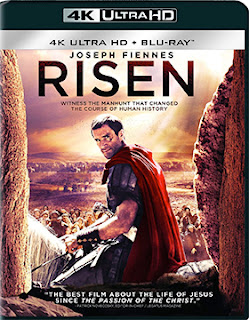 DVD & Blu-ray Release Report, Risen, 4K Ultra HD, Ralph Tribbey