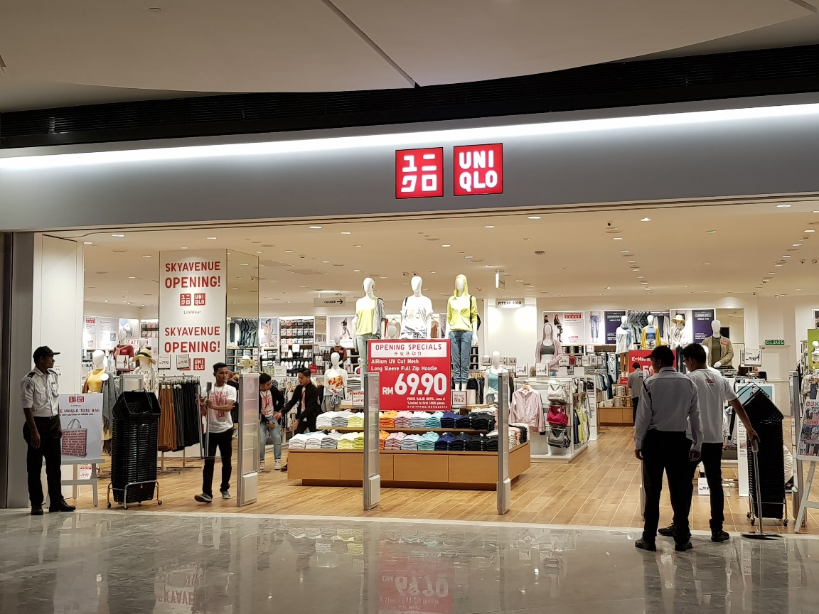 Uniqlo Malaysia Our New Store In Skyavenue Genting Is Facebook