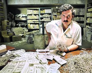 Pablo Escobar Emilio Gaviria Raja Kokain