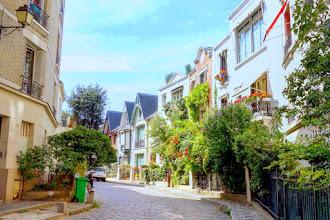 Paris : Villa Léandre, faux airs britanniques à Montmartre - XVIIIème