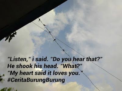 Cerpen: Cerita Burung-burung oleh Ningspara. Cerita Pendek oleh Nings S Lumbantoruan. Tentang seorang wanita dalam penantian yang menyukai suami orang lain.