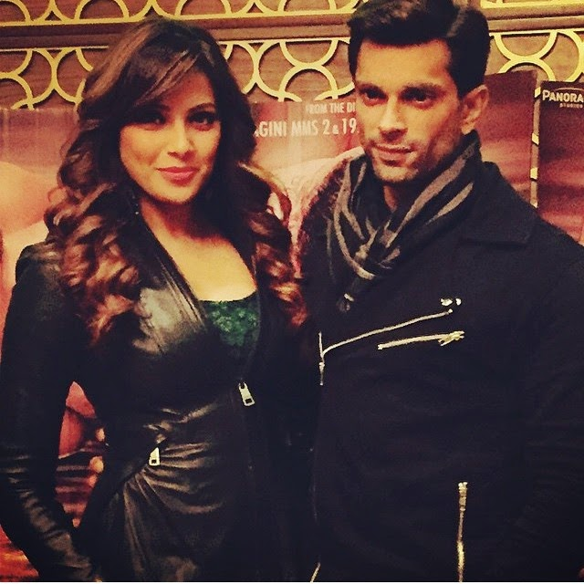 bipasha basu , s sg , alone ,, Hot Pics Of Bipasha Basu Karan Singh Grover Promoting Alone In Indore & Thane