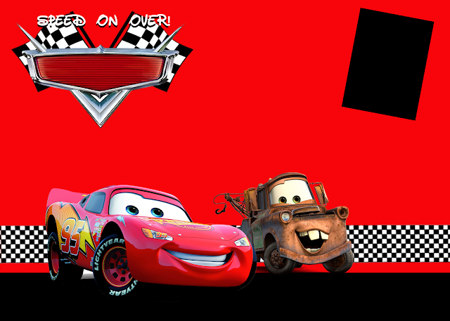 Cars Invitation Card Template Free: I Do On A Dime: Cars Party