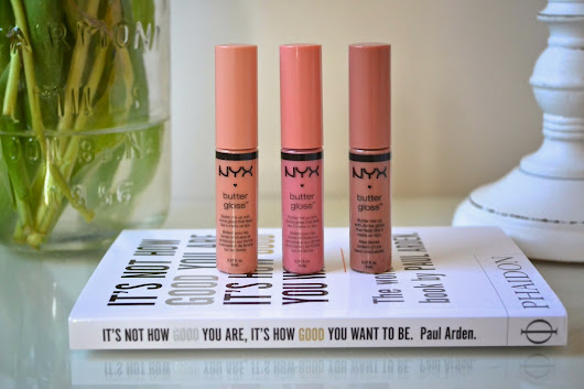 Review: NYX Butter Glosses + Swatches