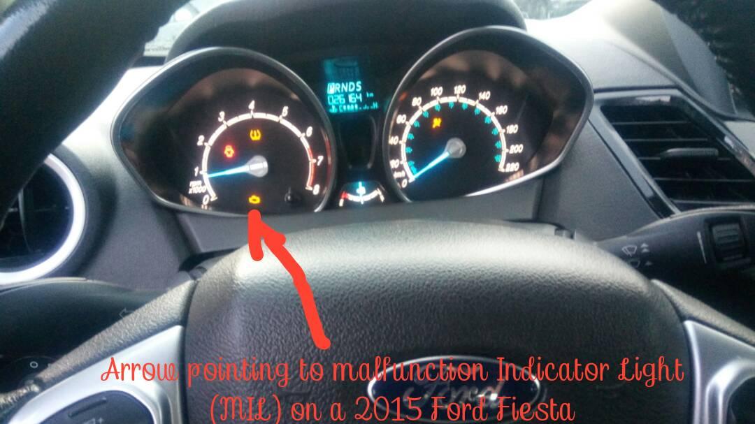 Malfunction Indicator Lamp Toyota