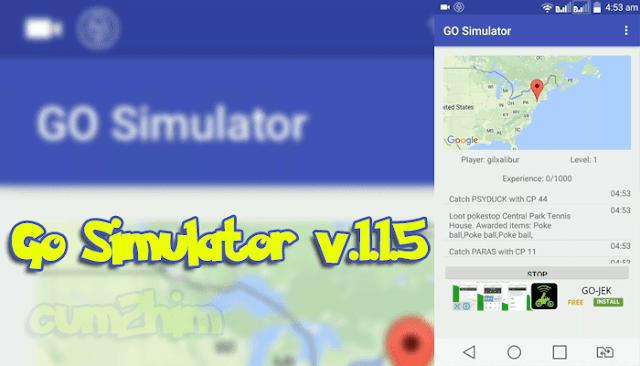 Aplikasi Pokemon GO Simulator 1.1.5  Apk (Bot Android)